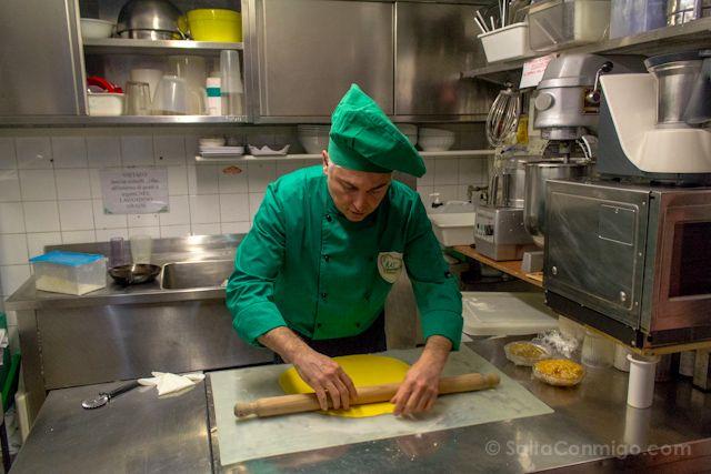 Cursos de cocina italiana en italia nuestra experiencia for Clases cocina italiana