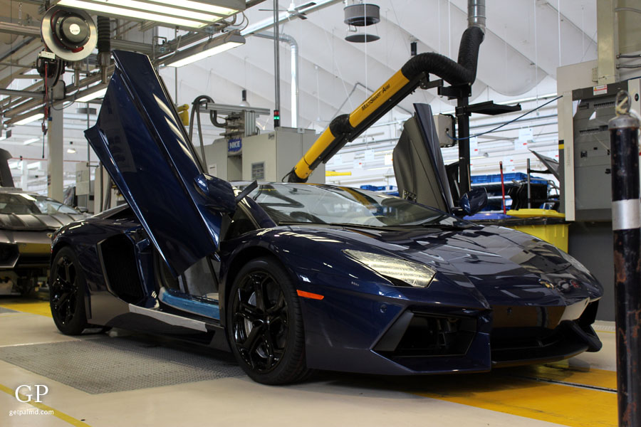 Inside The Lamborghini Factory Blogville