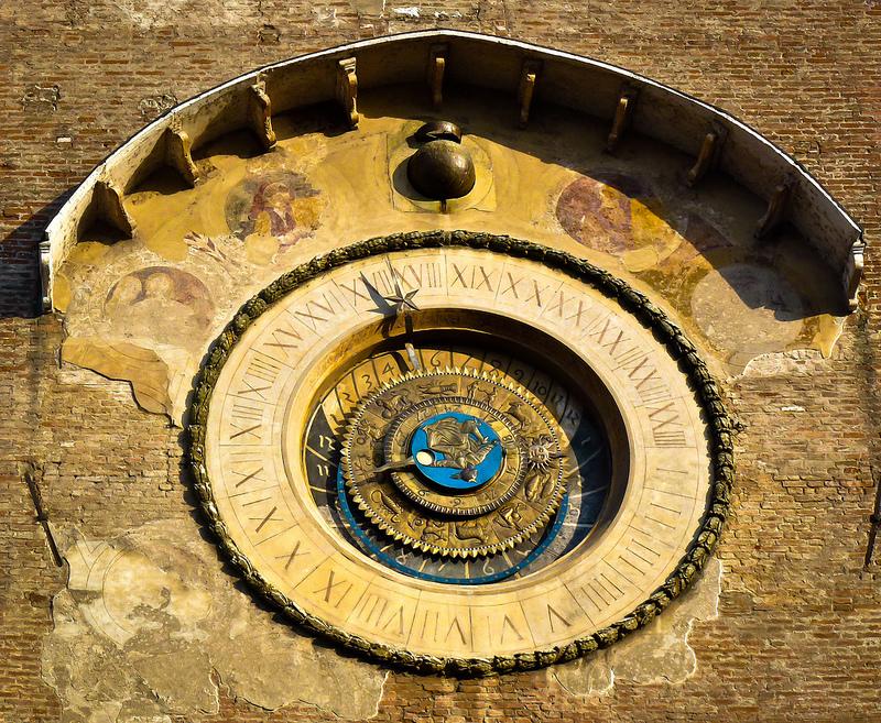 Mantua, Astronomical clock